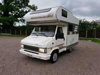 Fiat ducato hymer camp 46 4 or 2+2 berth camper van motorhome cassette toilet lhd