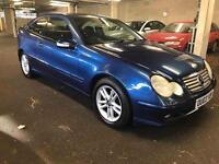 C class / coupe / automatic / mint condition
