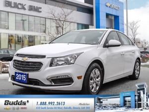 2015 Chevrolet Cruze 1LT 0.0% for up to 24 months O.A.C.!
