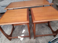 G Plan nest of tables. Lovely condition.
