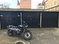 [Available] Garage for motorcycle (shared) near Angel £80pm
