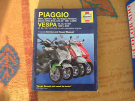 Piaggio Haynes workshop manual 125 scooter