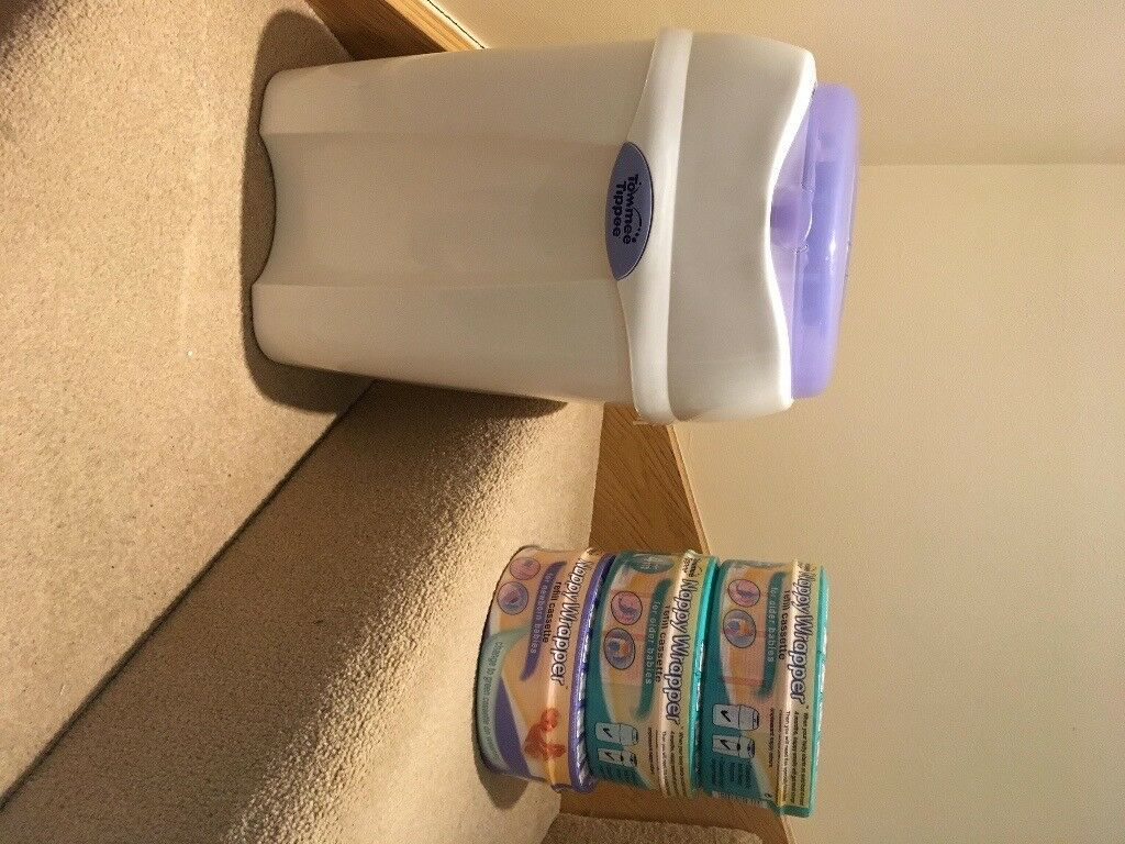 Tommee tippee nappy bin and bags | in Giffnock, Glasgow | Gumtree