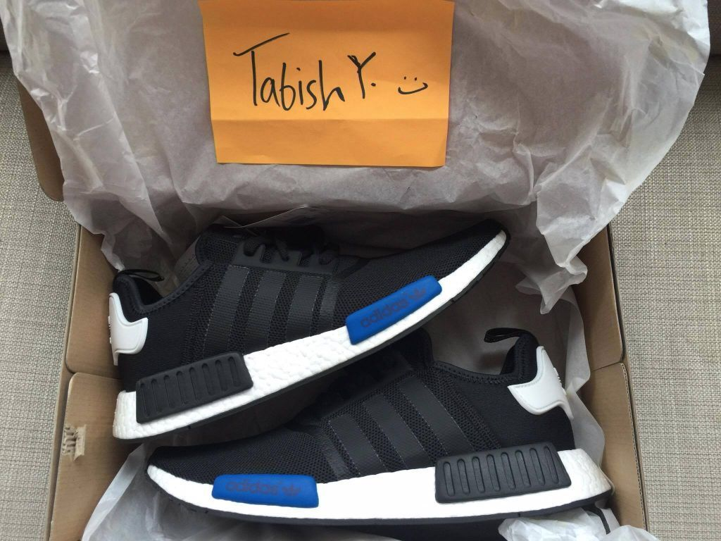 Adidas NMD R1 Runner Nomad Core Black Red White Bred
