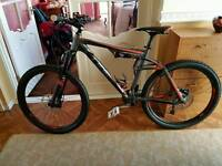 Cube 150 ams pro full suspension mountain bike