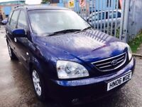 KIA CARENS DIESEL MANUAL CRDI LX 2006 FULL SERVICE HISTORY AIRCON 2 OWNERS
