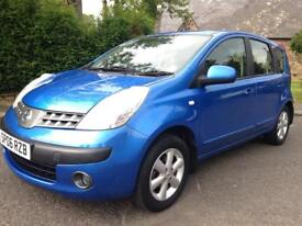2006 Nissan Note FULL 12 Months MOT Low Insurance 1.4i Low Miles for year
