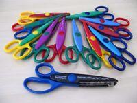 Set of 12 Craft Scissors