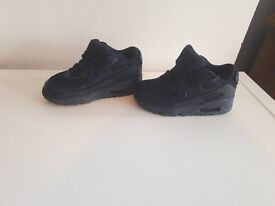 unisex navy nike air max! size 10!