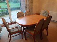 dinning table amd chairs