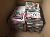 Mixed box of CDs