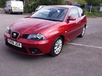 2006 SEAT IBIZA 1.4 STYLANCE ONLY 37640M WITH HISTORY EXCELLENT THROUGHOUT PART EXCHANGE WELCOME