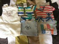 Boys 6-9month summer rompers