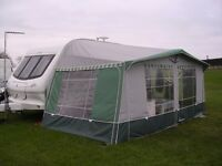 Isabella Caravan Awning for 14ft caravan. Size 835cms