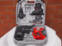 Black & Decker KC2000F Quattro cordless multi-tool kit with carry case. All in excellent condition