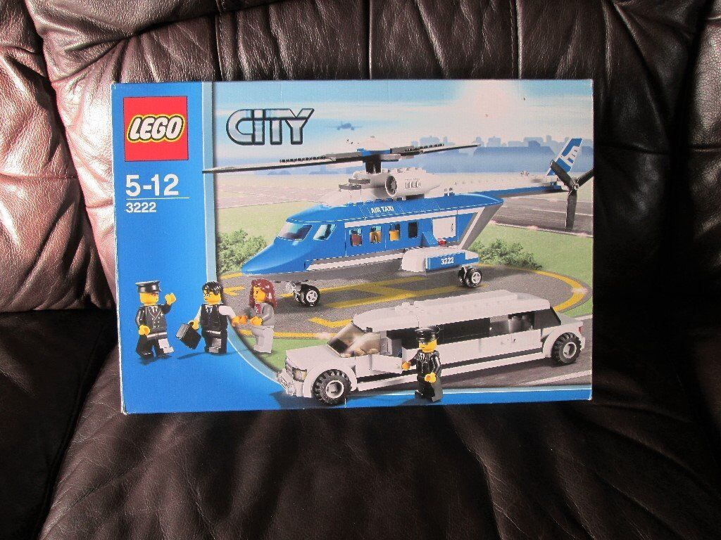 Lego City Limo And Helicopter 3222 Reduced Price In Norwich