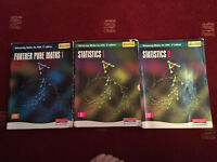 A Level Maths study / revision books x 3