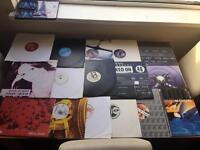 12 inch vinyl records x 30 DJ Decks mixture