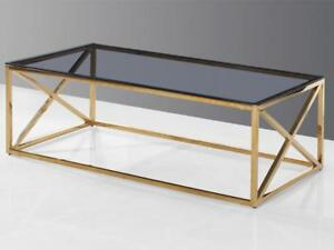 Golden Coffee Table (KA218)