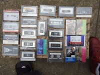 Audio Tape Collection of 22 Tapes