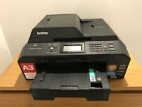 Brother A3 & A4 Wireless Printer & Scanner
