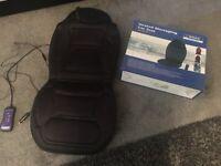 Massaging car seat