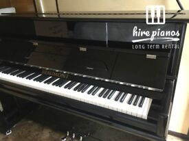 NEW BLACK BEAUMONT UPRIGHT PIANO