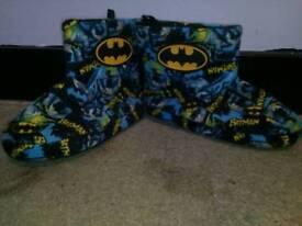 Boys batman slippers