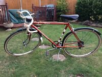 Retro Vintage racing bike Puch Clubleader