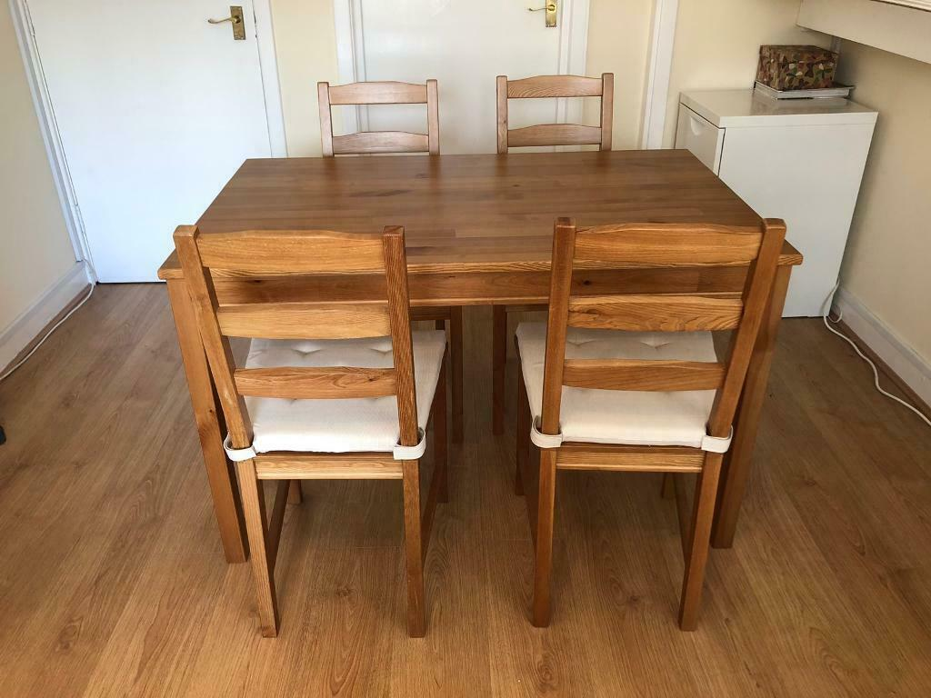 IKEA dining table and four chairs | in Partick, Glasgow ...