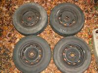 Volkswagen Golf winter wheels and tyres
