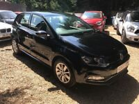 Volkswagen Polo 1.0 TSI BlueMotion Tech SE (s/s) 5dr£5,495 p/x welcome FREE 1 YEAR WARRANTY,LIKE NEW