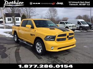 2016 Ram 1500 Sport | CLOTH | SUNROOF | SIDESTEPS |