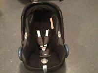 Maxicosi Car seat 0 to 12months