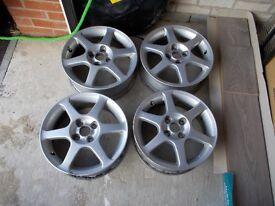 4 X Toyota Yaris T Sport Alloy Wheels