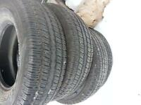 4 LIKE BRAND NEW GENERAL 265/70/16 A/S TRUCK SUV TIRES