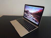 Macbook 12 Inch Retina, 512Gb SSD, 8Gb Ram, 1.2Ghz Core M-5y71 - Gold