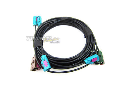 Cable Set Cable Loom Retrofitting for Original TV Antenna Modules all Mmi 2G