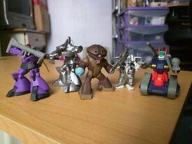 Gundam Mini Figures (x5)