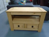 Brand New Penton Corner TV Unit. Already Built And Can Deliver. RRP £159.99. Size H57, W85, D40cm.