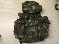 EX-BRITISH ARMY 120 LITRE BERGEN/RUCKSACK in excellent condition. ONO.