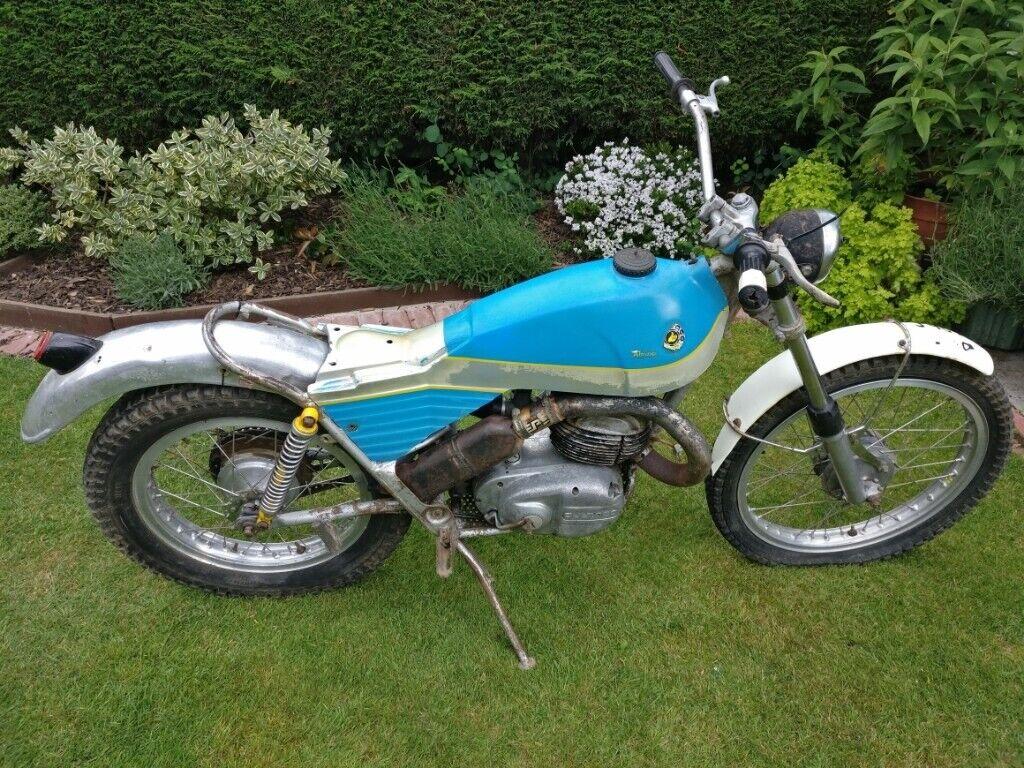 bultaco alpina m85 - includes over �750 of new parts