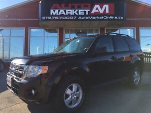 2010 Ford Escape XLT Automatic 3.0L, LEATHER, SUNROOF, ALLOYS