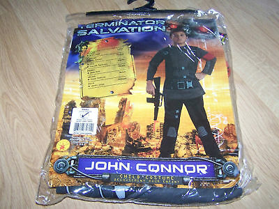Size Medium 8-10 Terminator Salvation John Connor Halloween Costume New