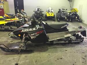 2010 Polaris RMK Assault 155 800