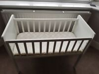 Mothercare Crib & New Mattress