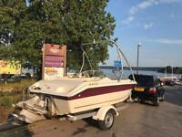 Regal speed/wakeboard boat