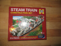 steam train construction kit, Haynes model steam train construction kit