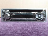 Panasonic Car Radio CD Player - No Code Required - Removeable Face + Mounting Cage - FREE DELIVERY