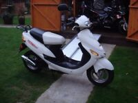 RELIABLE 50CC LEARNER READY CBT - MOTORCYCLE SCOOTER MOPED - ONLY 2000 MILES - NEW MOT - JUST £450